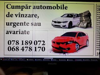 CUMPAR AUTOMOBILE DE VINZARE URGENTA