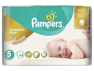 Pampers подгузники Premium Care 5, 11-25кг. 44шт