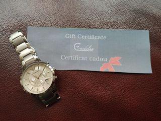 Подарочный сертификат на покупку брендовых часов!