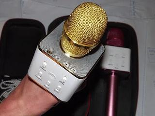 Беспроводной караоке микрофон Q7!  Q9