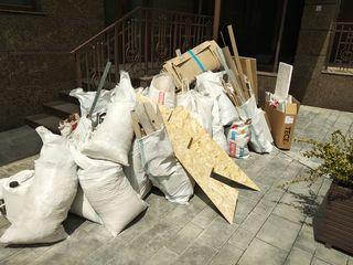 Вывоз строительного мусора + Грузчики.Еvacuam gunoi.