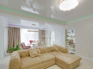 Vânzare apartament cu 5 odăi, suprafața 145 mp, terasă! Reparație! Mobilat! Design! Preț negociabil!