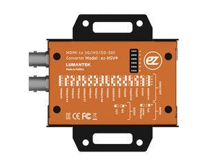 Супер конвертер HDMI в SDI, Lumantek ez-HSV+, встроенный монитор, преобразование форматов