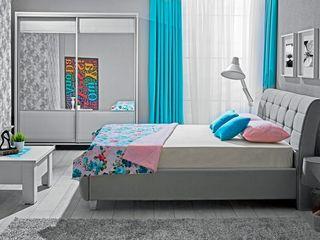 Dormitor Ambianta Samba Grey 1600 mm la un preț mic în Moldova