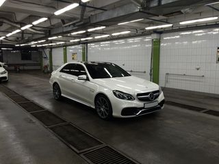 Exclusive Mercedes-Benz E Class AMG E63 facelift alb/белый