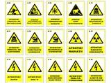 Indicatoare de securitate (panouri de semnalizare)