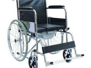 Carucior cu WC pentru invalizi Инвалидная коляска с туалетом