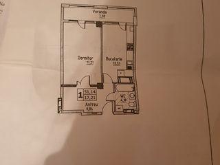 Apartament 51 m2 linga Valea Morilor.