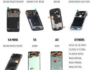 samsung galaxy s2 3 4 5 6 7 edge, j1 2 3 4 5 6 7,a 3, 5, note neo 3 4, LCD=amoled и TFT