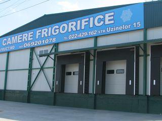 Chirie camere frigorifice / preracire fructe