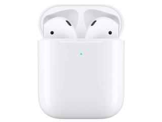Apple airpods + wireless charging case белый / беспроводные
