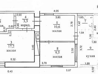 Дом по ул.Щусева, центр г.Рыбница у супермаркета Шериф=$16990. Можно в рассрочку.