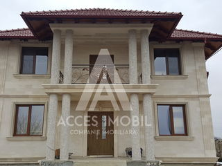 Ialoveni, casa 180 m2, 2 nivele,12 ari, euroreparație, toate comunicațiile, autonomă!