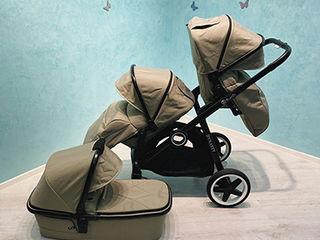 Carucior pentru copii de virste apropiate (2 Sport + Landou) BabyZz Dynasty