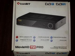 MovieHD T2 Pro Full-HD медиаплеер- Цыфровой ТВ Тюнер
