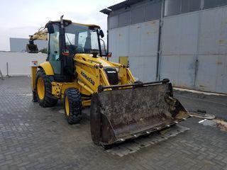 Prestam servicii: excavator, buldoexcavatoare, Telelift (platforma-autoridicatoare)