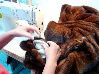 Ремонт и перекрой шуб, дубленок и кожных курток