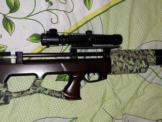 Брендовая псп винтовка очень редкая и очень редкого калибра
