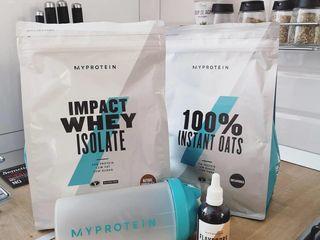 Suplimente sportive Myprotein livrare in toata tara