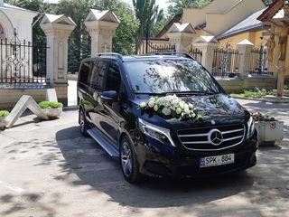 Mercedes-benz: v class 7+1 lucuri