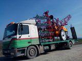 Oferim servicii de transport tehnica speciala si agricola de la 1 pana la 10 tone