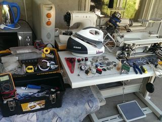 Ремонт быттехники,швейную,парогенераторы,масленные радиаторы,конвекторы и.т.д.