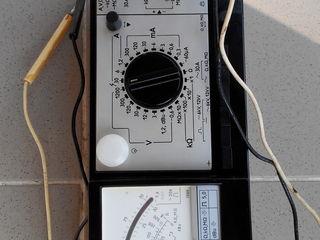 ампервольтметр   250 лей клещи   электроизмерительные д 90   паспорт - инструкция    прилагается