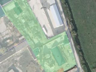 Продается ком.участок 87 сот с строениями 1400м2 под произ-во,склад на Мунчештах! не первая линия!