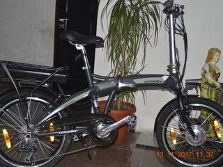 Bicicleta  leader cu baterie
