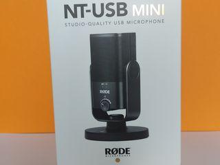 Rode nt-usb mini. exclusive. nou sigilat- новый запечатанный.