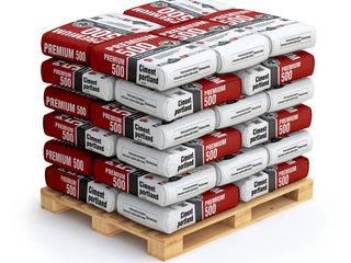 Ciment în saci marca 500 premium