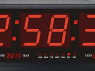 LED цифровые часы крупные 0,7mX0.23m настенные