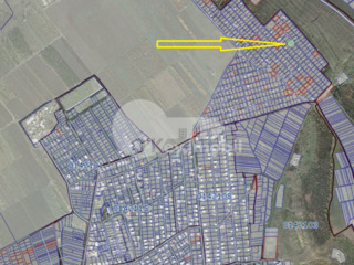 Teren pentru construcții, 7 ari, comunicații conectate, Bubuieci 7000 €