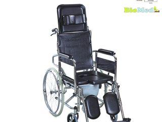 Carucior Fotoliu rulant invalizi cu WC tip3 Инвалидная коляска/инвалидное кресло с туалетом тип3