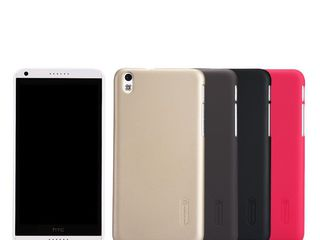 HTC Desire 816 чехол Nillkin Frosted Shield + защитная плёнка