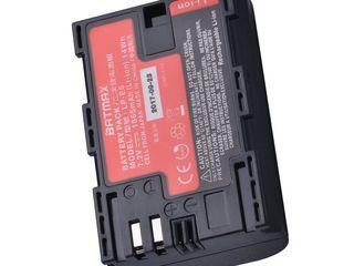 Aккумуляторы Canon LP-E6, LP-E5, LP-E8, LP-E10, LP-E12, LP-E17 новые,с гарантией