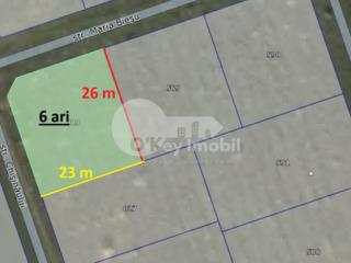 Teren pentru construcții, 6 ari,  regiune liniștită Bubuieci 18000 €