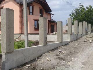Construim garduri - Строим заборы