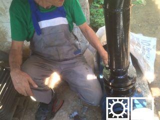 Монтаж систем очистки воды, насосов, станций повышения