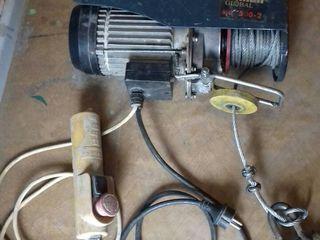 Продажа: подъемное устройство с электролебедкой einhell global 500-2