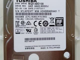 Toshiba 1000GB,2.5 ноутбук надежный хдд новый 850 лей