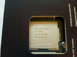 Продаю новый запечатанный Intel Core i7-9700K box processor (12M Cache, up to 4.90 GHz)
