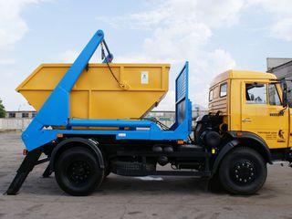 Вывоз мусора контейнером 8м3-500леев/сутки!!!