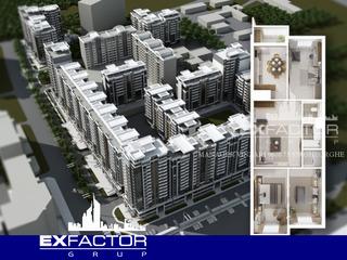 Exfactor Grup - Ciocana, toate planificările cu 4 camere in format 3D, direct de la dezvoltator!