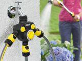 Товары для полива и орошения: садовые шланги, распылители, дождеватели и другое.