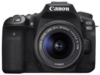 Aparat foto DSLR Canon EOS 90D + 18-55 IS STM (3616C030)