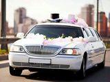Классический белый лимузин Lincoln Town Car оригинальный американец