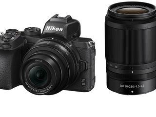 Беззеркальный фотоаппарат Nikon Z50 Kit 16-50mm VR + 50-250mm VR