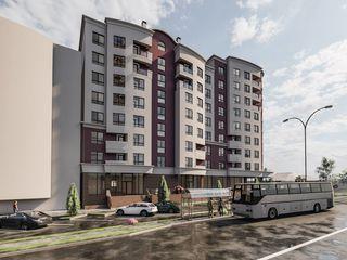 Ialoveni - Complex Nou! 2 camere - 76 mp, 47 200 euro!