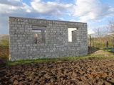 Se vinde lot pentru constructie + constructie nefinisata in satul Porumbeni